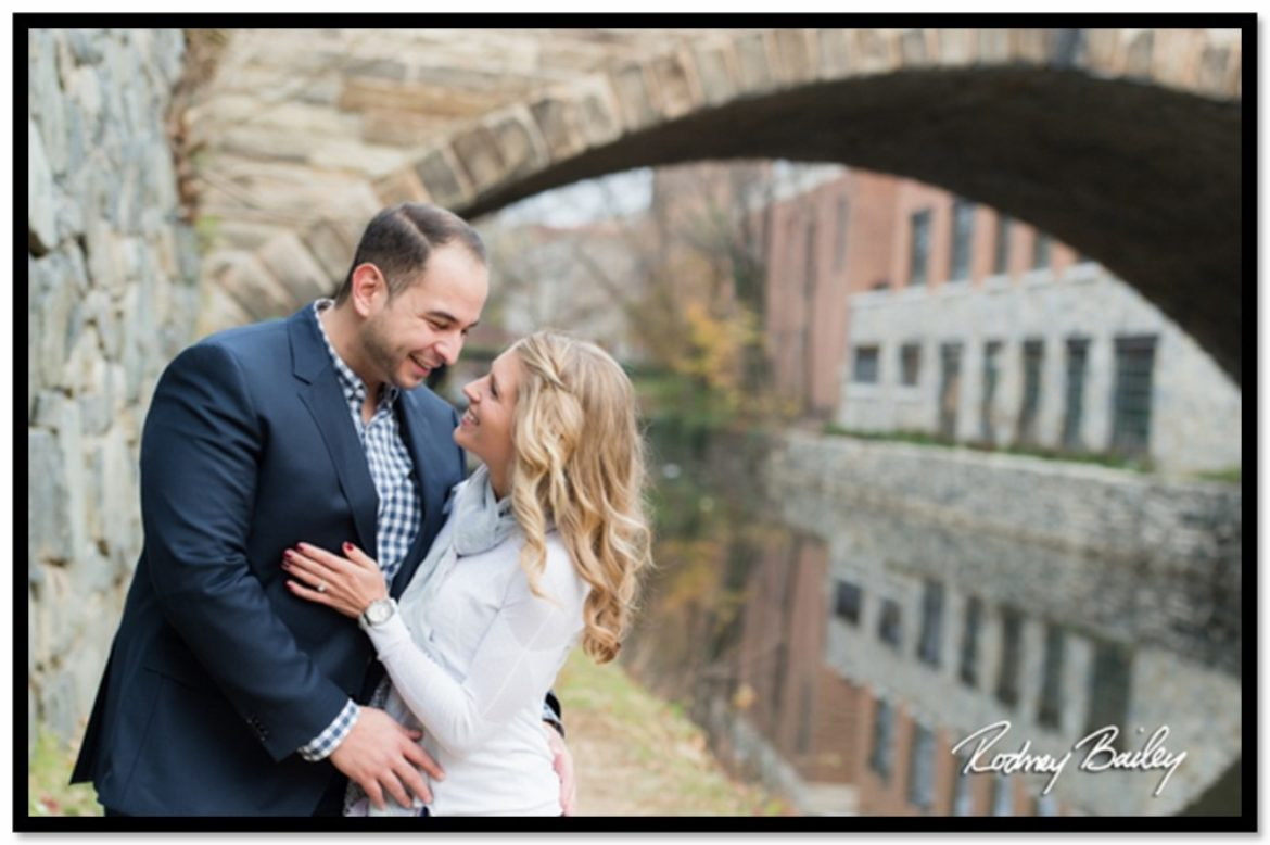 Engagement Session – Natalie and Sadek in Georgetown, Washington DC