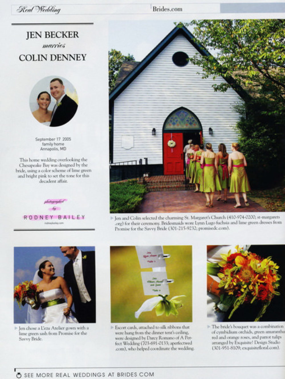 Rodney Bailey Wedding Photography Press PR Media Accolades Northern Virginia Engagement Photographer Washington DC