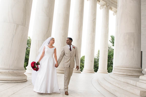National Mall Wedding GW Masonic Temple Wedding Ceremony Reception Rodney Bailey Wedding Photography