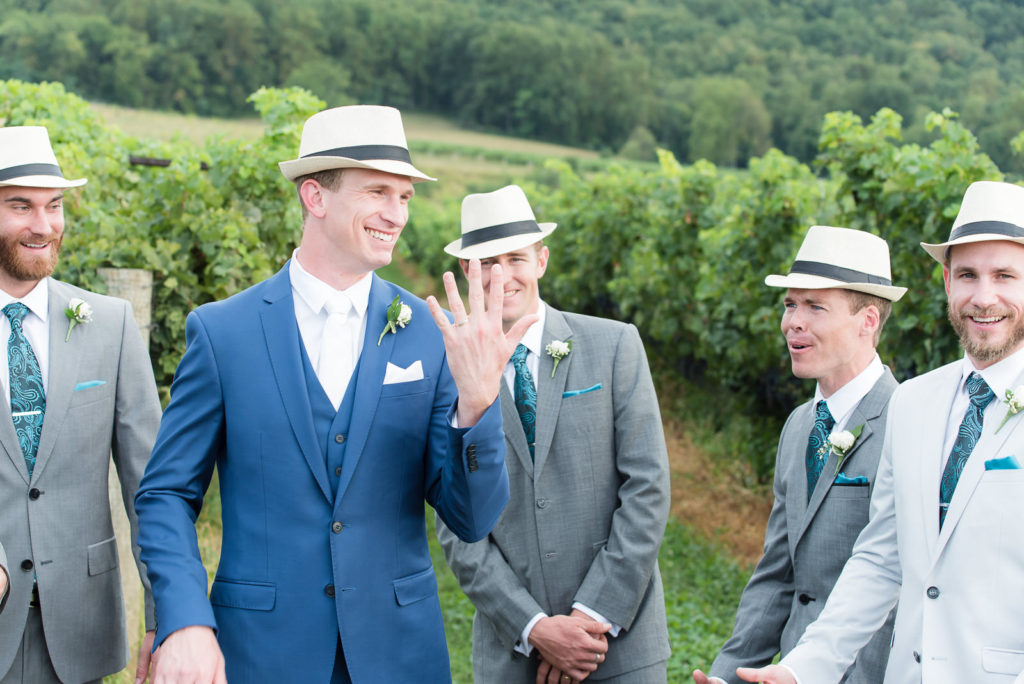 Breaux Vineyards weddings Northern Virginia Photographers Rodney Bailey