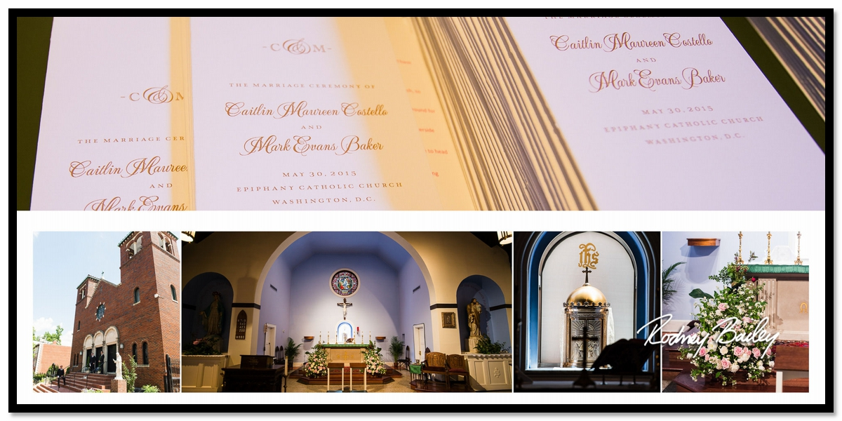Sequioa Wedding Reception DC Epiphany Catholic Church Rodney Bailey Wedding Photography