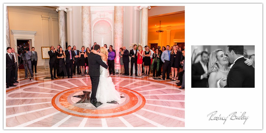 Laura Kirk Bravo Newlyweds Wedding Photography Rodney Bailey Carnegie Institution Washington DC