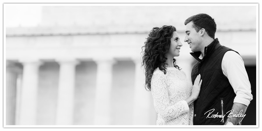 Engagement Photography Washington DC Rodney Bailey Wedding Constitution Gardens