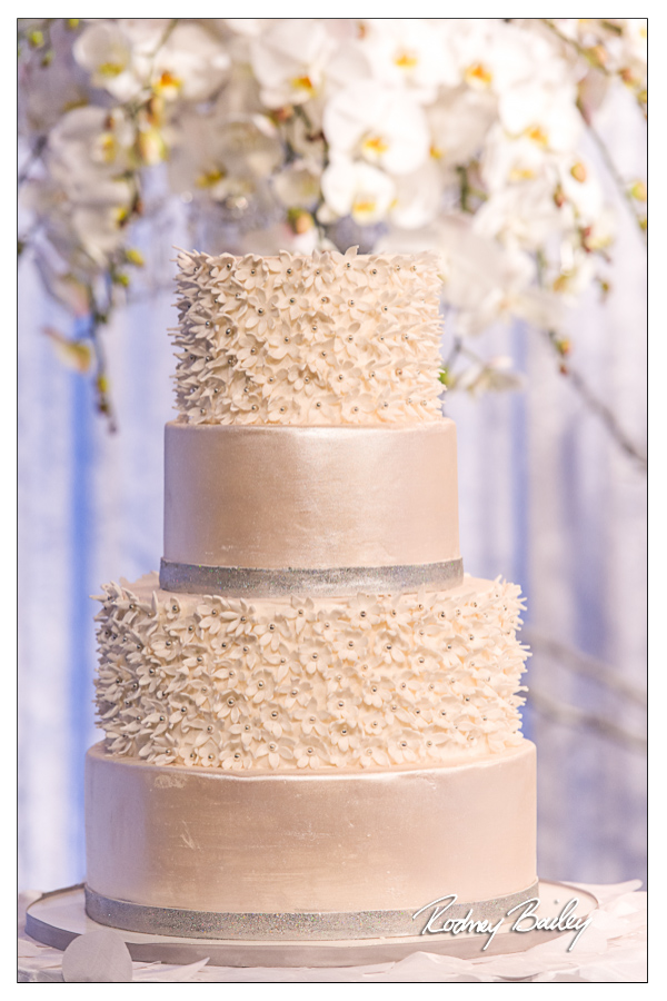 Selecting a Wedding Cake in DC, VA and MD wedding cake all white wedding cake washington dc wedding rodney bailey photography