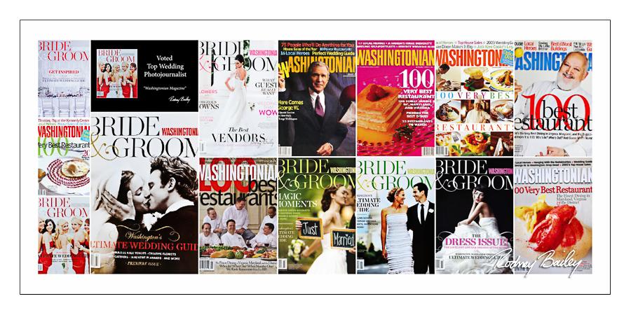Washingtonian Bride Groom Magazine Recommended Photographer Washingtonian Magazine Top Wedding Photographer DC Rodney Bailey Photography