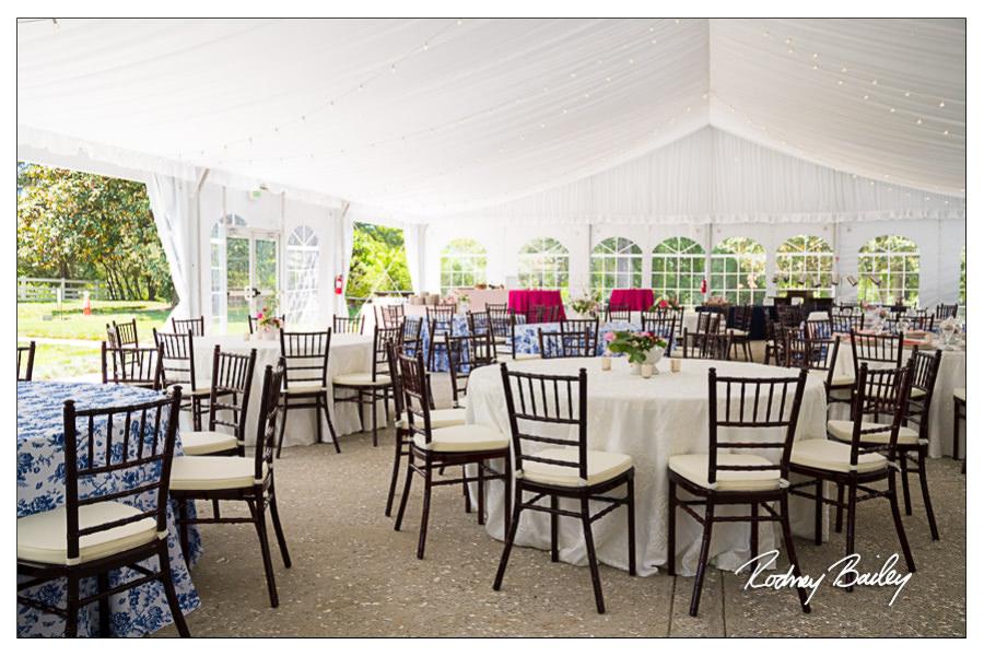 Stunning Tent And Exquisite Cuisine At Woodlawn Weddings Alexandria VA