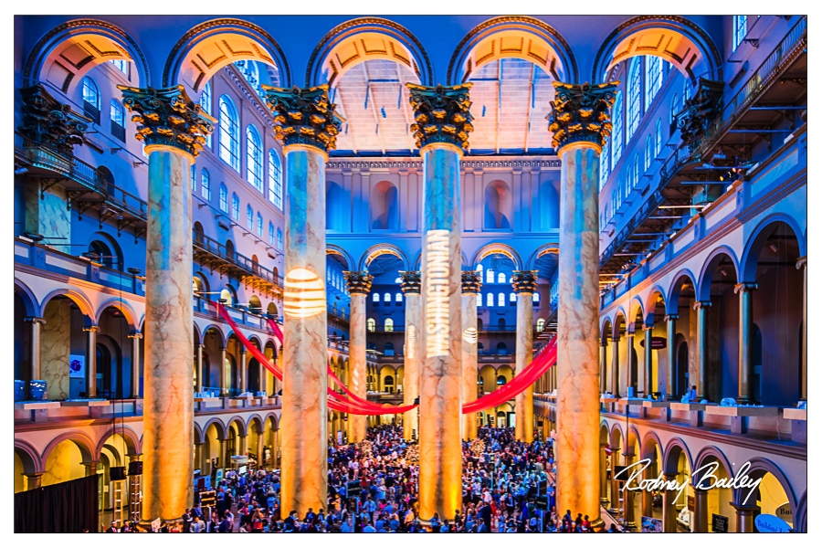 event photography washington dc rodney bailey event photographers DC VA MD national building museum events