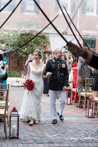 Washington DC Cherry Blossom Wedding Photographers Decatur House Rodney Bailey Photography