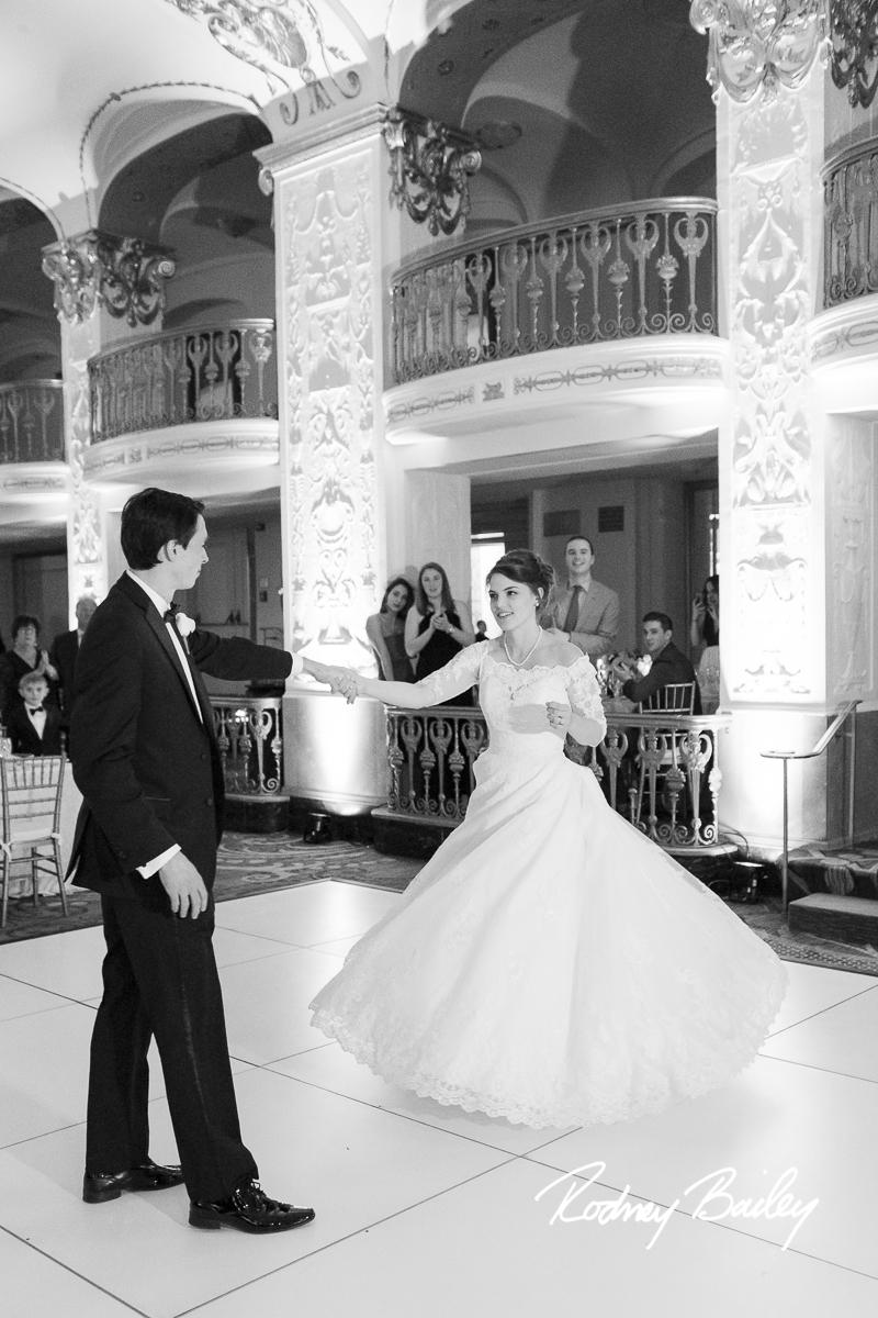 Mayflower Hotel wedding Washington DC wedding photographer Rodney Bailey