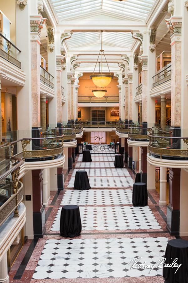National Portrait Gallery Museum weddings events Rodney Bailey Wedding Photography
