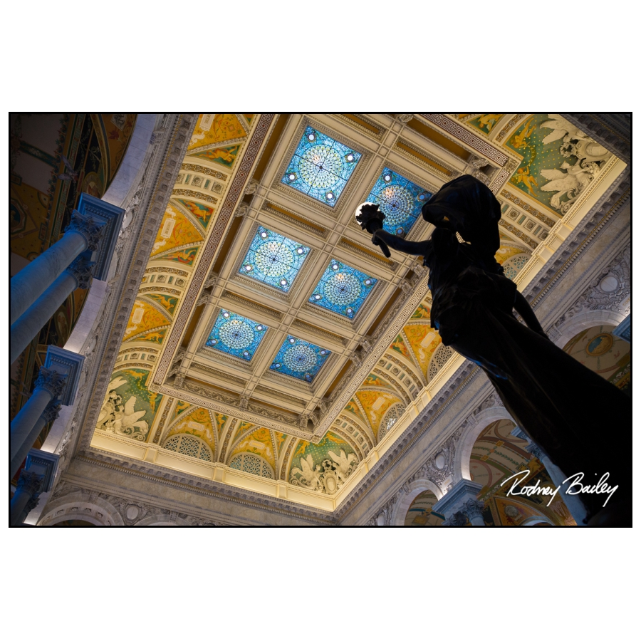 Engagement Photographers Library of Congress Washington DC Rodney Bailey engagement photography