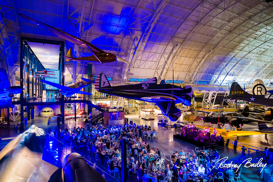 Northern Virginia Event Photographers Steven F Udvar Hazy Center National Air Space Museum Rodney Bailey Photography