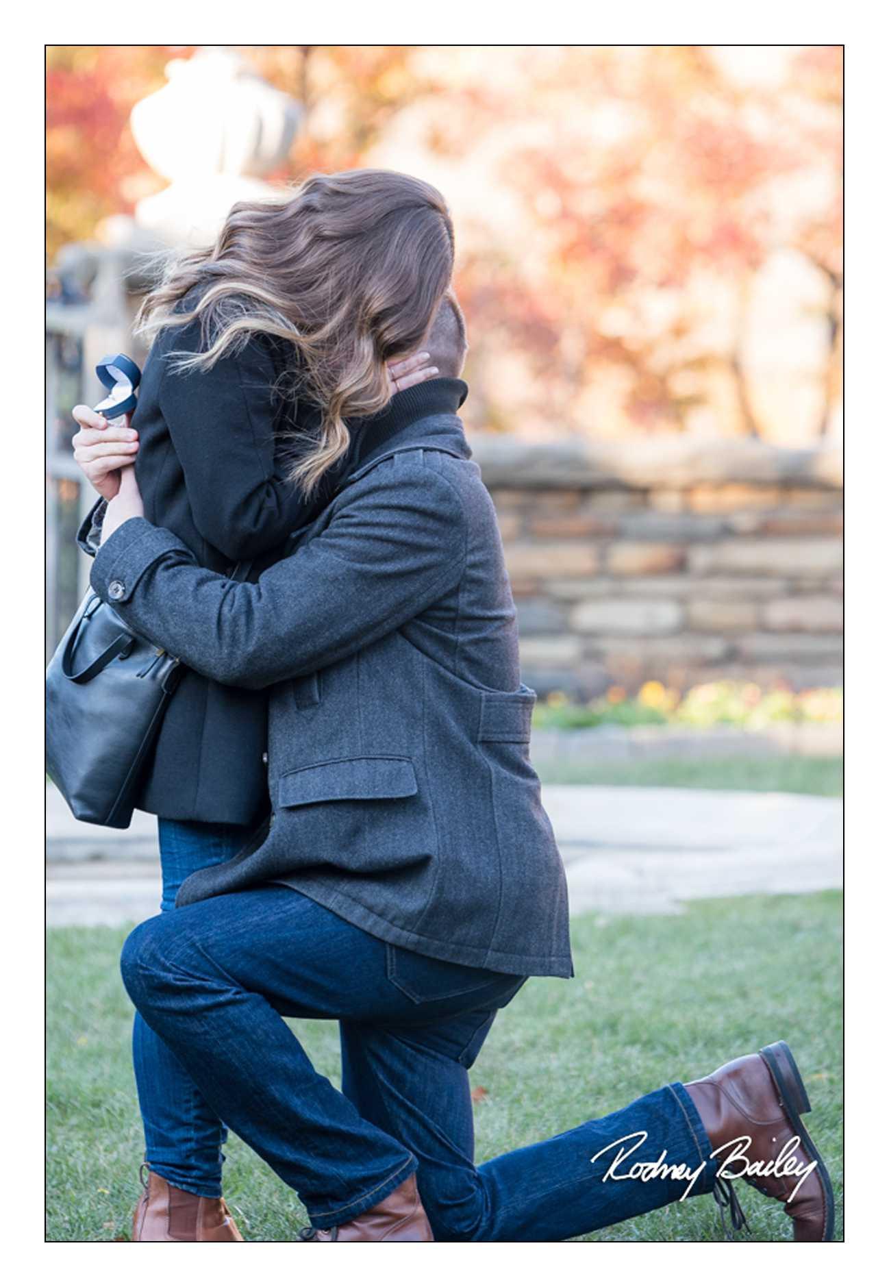 Marriage Proposal Photographer Dumbarton Oaks Rodney Bailey Photography Washington DC