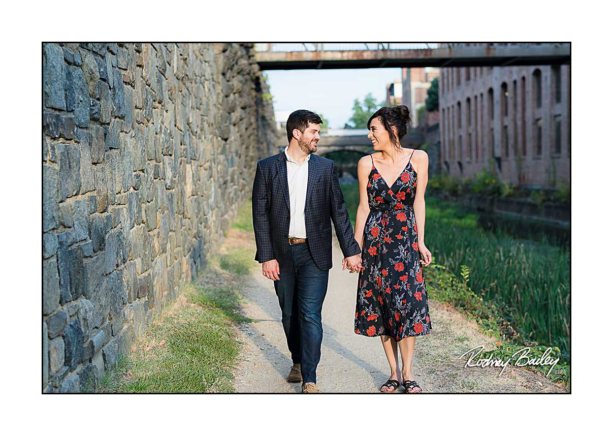 engagement proposal Georgetown DC photography Rodney Bailey photographers