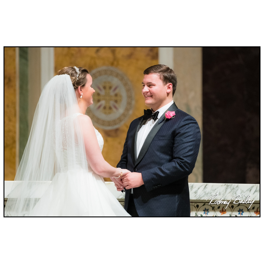 St Mathews Cathedral weddings Washington DC photographers Rodney Bailey Photography