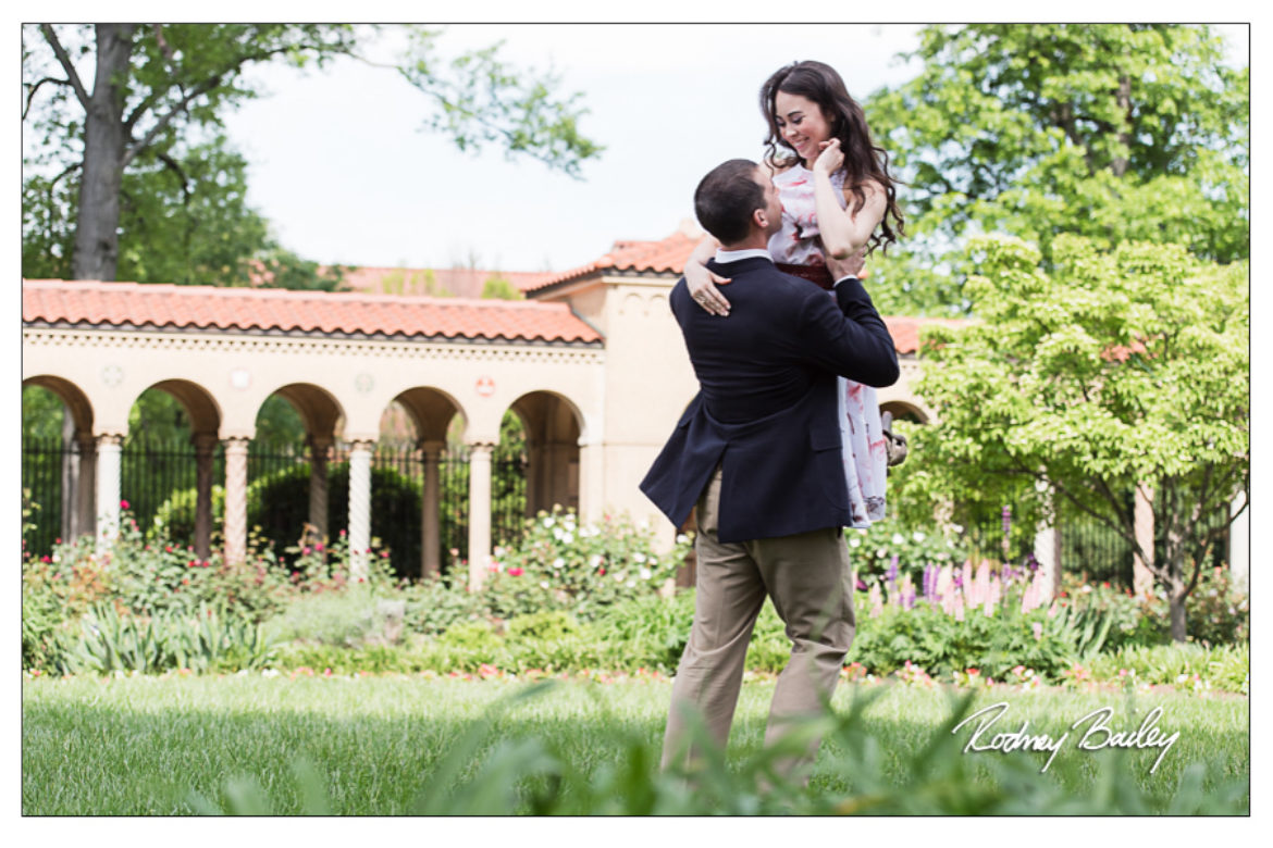 St Francis Hall Monastery Engagement Session Washington DC Wedding