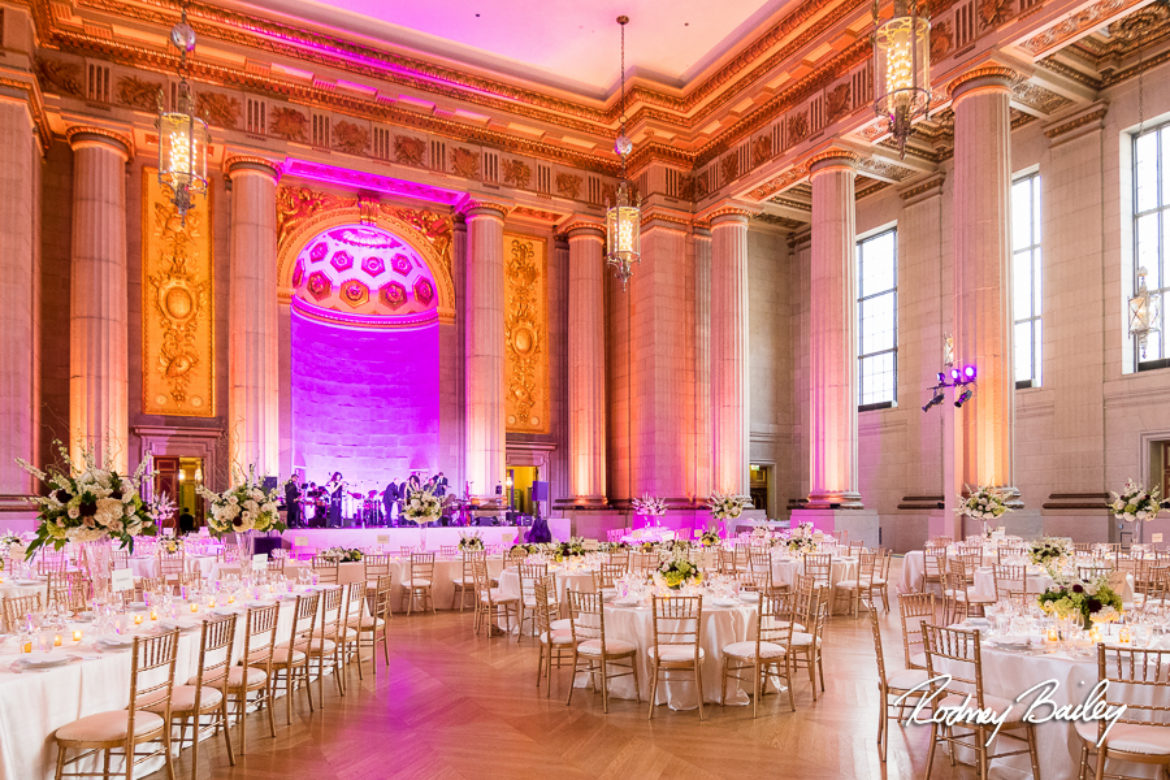Washington DC Wedding Photographers at The Andrew W Mellon Auditorium