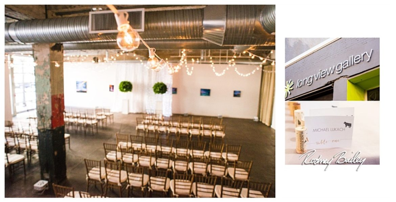 Washington DC Art Gallery Wedding Venue | LongView Gallery Wedding