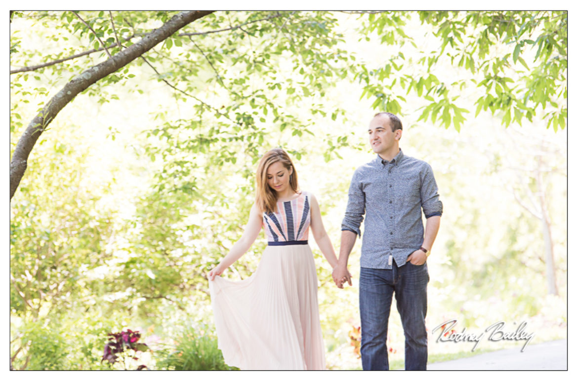 Meadowlark Gardens Engagement Photographer Northern Virginia
