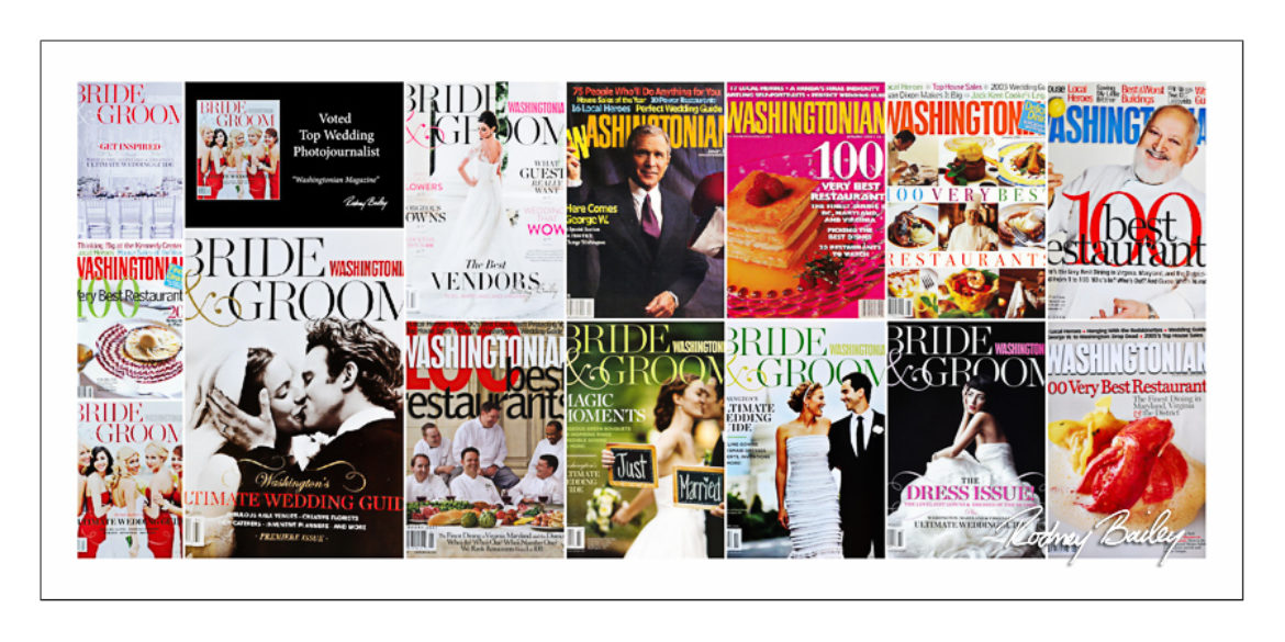 Washingtonian Bride Groom Magazine Recommended Photographer