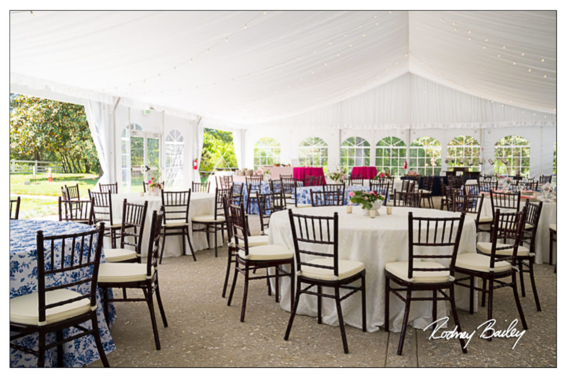 Stunning Tent and Exquisite Cuisine at Woodlawn Weddings Alexandria VA