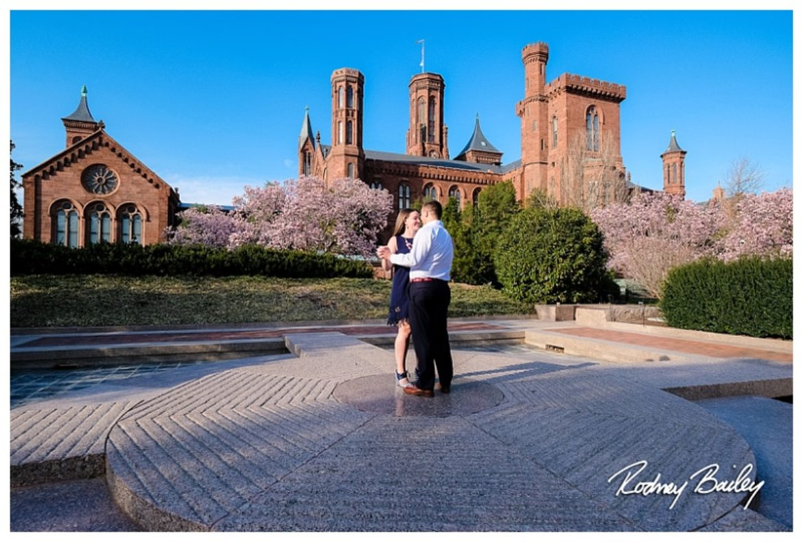 Washington Engagement Photographer | Our Beautiful City