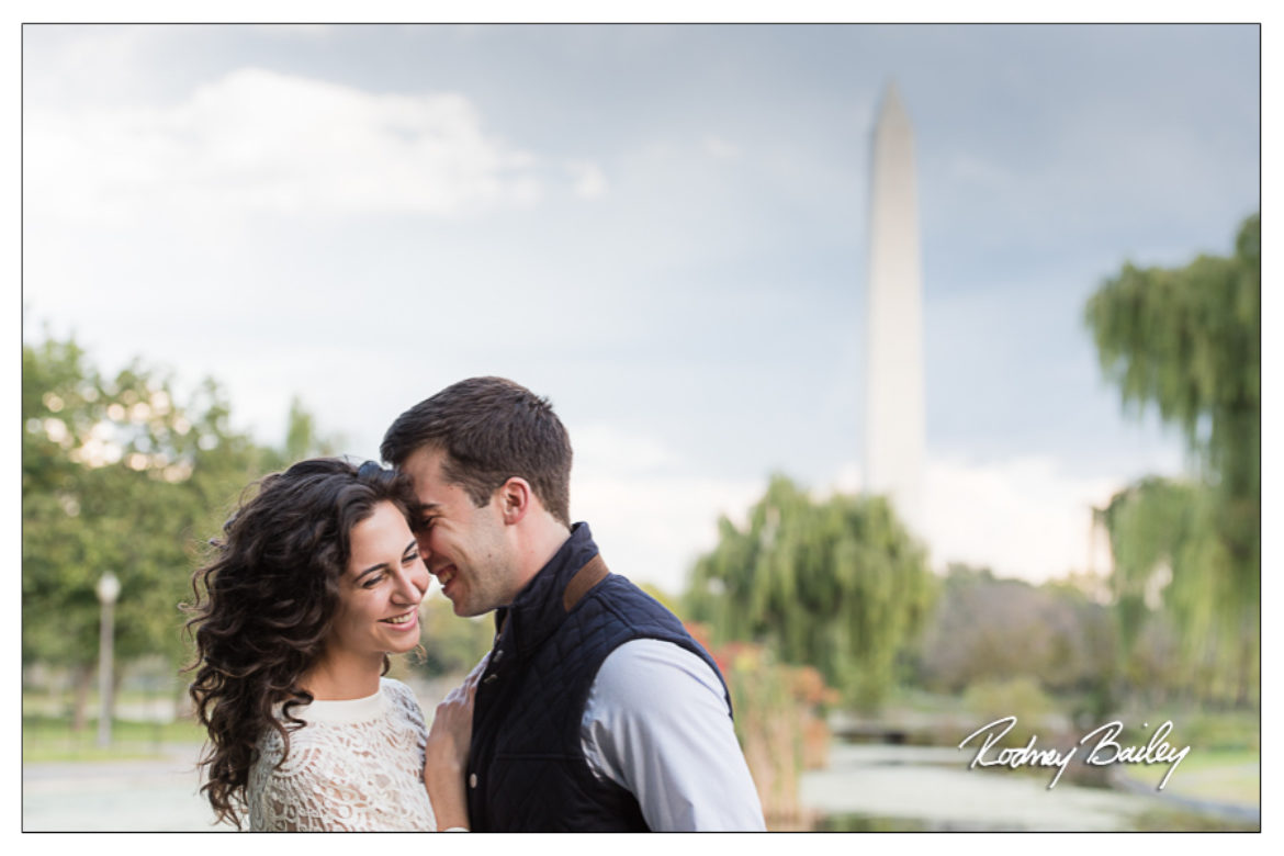 Wedding Photographer in Washington DC Captures Gorgeous Engagement Session